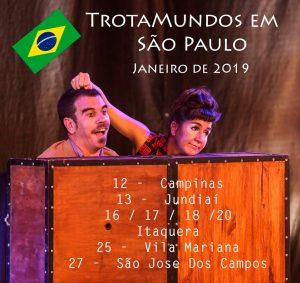 Segunda gira por Brasil